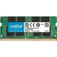 Crucial 16GB 1 x 16GB DDR4 2666MHz Non-ECC SO-DIMM Laptop Memory