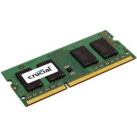 Crucial 2GB DDR3 1600Mhz Non-ECC SO-DIMM Laptop Memory