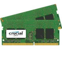 Crucial 32GB DDR4 2400MHz Non-ECC SO-DIMM 2x16GB Laptop Memory Kit