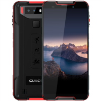 "Cubot Quest Red/Black 5.5"" 64GB 4G Hybrid SIM Unlocked & SIM Free"