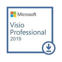 Microsoft Visio Professional 2019 - 1 PC Device - Electronic Download