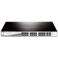 24 10/100/1000 Base-T port with 4 x 1000Base-T /SFP ports