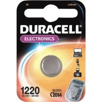 Duracell DL1220 Lithium Button Battery 1 x 1 Pack