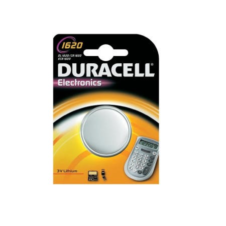 Duracell DL1620 Lithium Button Cell Battery 1 x 1 Pack