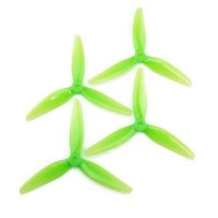 HQ Durable Prop  5.5X3.5X3 Light Green 2CW+2CCW-Poly Carbonate-POPO