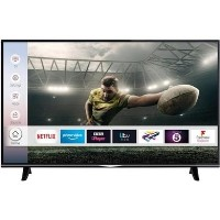 "electriQ 49"" 4K Ultra HD Smart HDR LED TV with Dolby Vision and Freeview Play"