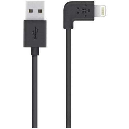 Belkin MIXIT 90° Lightning to USB Cable 1.2M - Black