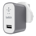F8M731drGRY Belkin Premium MixIt Mains Charger - Grey