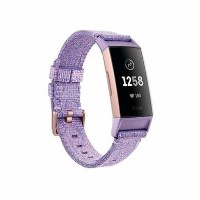 Fitbit Charge 3 SE Lavender Woven / Rose-Gold Aluminium