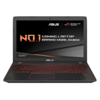 ASUS FX553VD Core i5-7300HQ 8GB 1TB + 128GB SSD GeForce GTX 1050 4GB DVD-RW 15.6 Inch Full HD Windows 10 Gaming Laptop