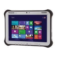 Panasonic Touchpad FZ-G1 Core i5-6300U 2.4GHz 4GB 128GB SSD 10.1 Inch Windows 10 Professional Tablet