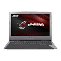 Asus ROG G752VM-GC010T Core i7-6700HQ 16GB 1TB+256GB SSD GeForce GTX 1060 DVD-RW 17.3 Inch Windows 1