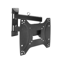 "electriQ Multi-Action Articulating TV Wall Bracket for TVs up to 43"" with VESA 200 x 200mm and 25kg Load"