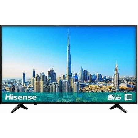 "H50A6200UK Hisense H50A6200 50"" 4K Ultra HD HDR LED Smart TV with Freeview HD and Freeview Play"