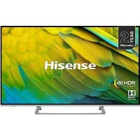 "Hisense H43B7500 43"" 4K Ultra HD Smart HDR LED TV with Dolby Vision"