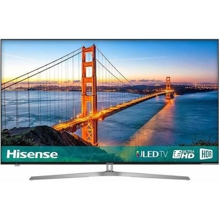 "H50U7AUK Hisense H50U7AUK 50"" 4K Ultra HD HDR ULED Smart TV with Freeview Play and Freeview HD"