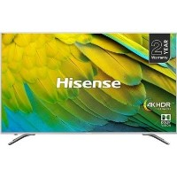 "Hisense 75"" H75B7510 4K Ultra HD Smart HDR LED TV with Dolby Vision - Silver"