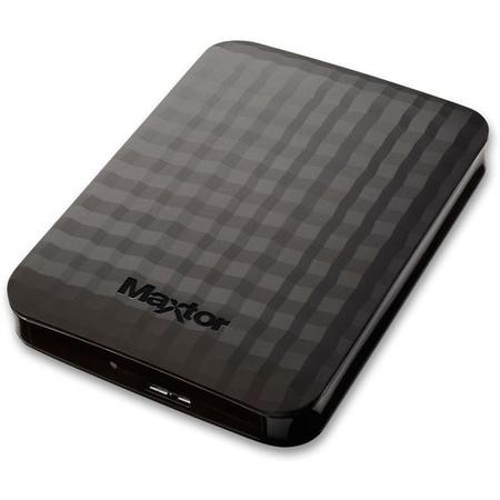 "Maxtor By Seagate M3 500GB 2.5"" Portable Hard Drive in Black"