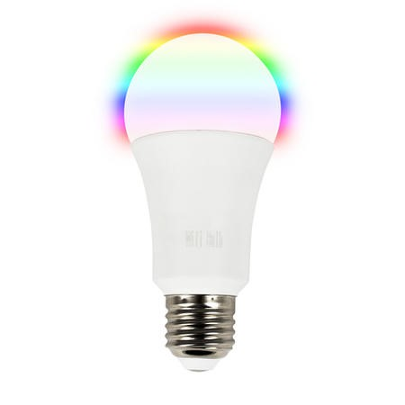 electriQ Smart dimmable colour Wifi Bulb with E27 screw ending - Alexa & Google Home compatible