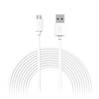 Jivo Xtra Long Micro USB Charge and Sync Cable 3m - White