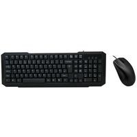 CiT Wired Keyboard and Mouse Desktop Kit USB Plug & Play Retail
