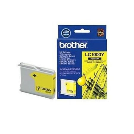 Brother LC 1000Y Print Cartridge - Yellow