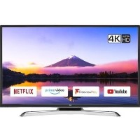 "GRADE A2 - JVC LT-40C890 40"" 4K Ultra HD Smart HDR LED TV with 1 Year Warranty"