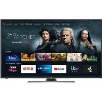 "Grade A1 JVC LT-49CF890 Fire TV Edition 49"" Smart 4K Ultra HD HDR LED TV with Amazon Alexa"