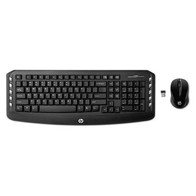 HP US Wireless Keyboard and Mouse