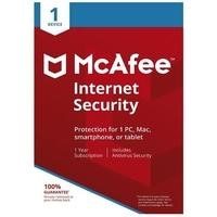 McAfee Internet Security 1 Device - 12 Month Subscription