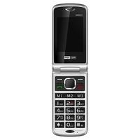 "Maxcom MM831 Black/Silver 2.4"" 3G Unlocked & SIM Free"