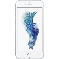 "Apple iPhone 6s Silver 4.7"" 32GB 4G Unlocked & SIM Free"