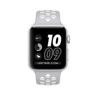 Apple Watch 2 Nike+ 38MM Silver Aluminium Case Silver/White Sport Band
