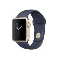 Apple Watch Series 1 38mm Gold Aluminium with Blue Sport Band
