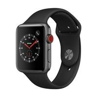 Apple Watch Sport Series 3 GPS + Cellular 42mm Space Grey Aluminium Case with Black Sport Band
