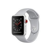 Apple Watch Series 3 GPS 42mm Silver Aluminium Case with Fog Sport Band