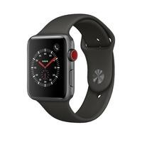 Apple Watch Sport Series 3 GPS + Cellular 42mm Space Grey Aluminium Case with Grey Sport Band
