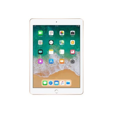 MRM82B/A New Apple iPad WiFi + Cellular 128GB SSD IPS 9.7 Inch iOLS 11 Tablet - Gold