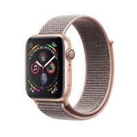 Apple Watch Series 4 GPS 40mm Gold Aluminium Case with Pink Sand Sport Loop