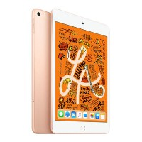 Apple iPad Mini 2018 Wi-Fi + Cellular 256GB 7.9 Inch Tablet - Gold