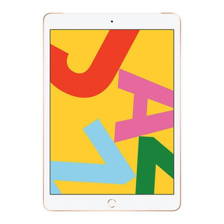 Apple iPad WiFi + Cellular 128GB 10.2 Inch 2019 Tablet - Gold