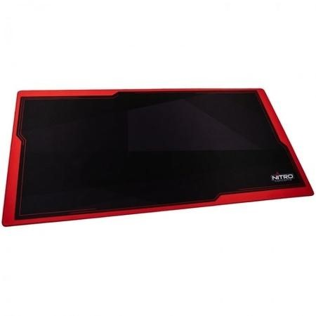 Nitro Concepts Desk Mat 1600 x 800mm - Black/Red