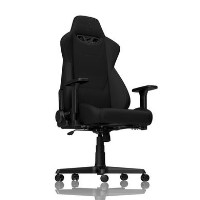 Nitro Concepts S300 Fabric Gaming Chair in Stealth Black