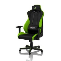 Nitro Concepts S300 Fabric Gaming Chair in Atomic Green