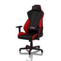 Nitro Concepts S300 Fabric Gaming Chair in Inferno Red