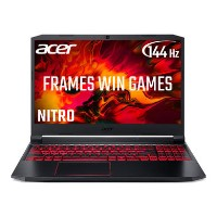 Acer Nitro 5 Ryzen 5-4600H 8GB 512GB SSD GeForce GTX 1650 15.6 Inch  Full HD 144Hz Windows 10 Gaming Laptop
