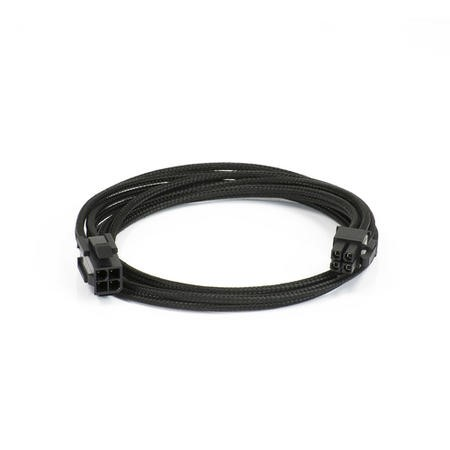 Phanteks Molex Cable Extension 50cm - Sleeved Black