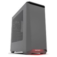 Phanteks Eclipse P400 Midi Tower Case - Gun Metal Window