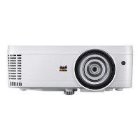 ViewSonic PS600W - DLP projector - 3D - 3500 ANSI lumens - WXGA 1280 x 800 - 16_10 - 720p - short-throw fixed lens