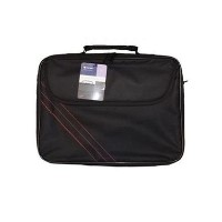 "15.6"" Notebook Carry Bag Black and Red"
